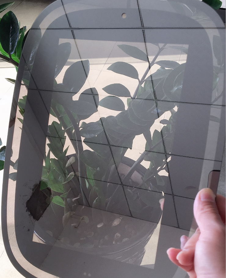 Hot sale best prices high quality smart hidden 2 TV two-way mirror glass