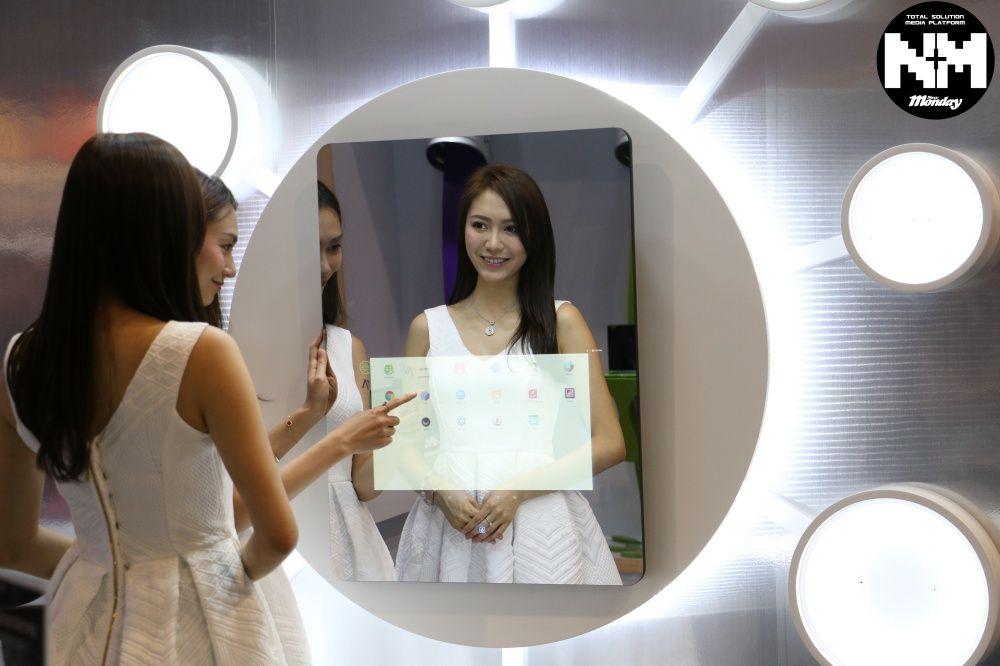 High quality magic mirror glass/ mirror display glass/mirror tv screen glass